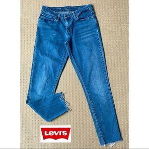 Levi's Demi Curve mid rise skinny jeans W28 L28